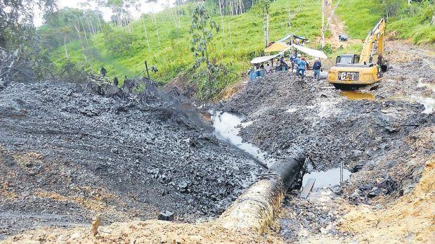 Derrame de petróleo impactó sobre áreas agrícolas en Amazonas