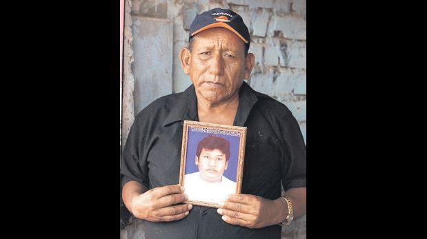 A José Pizarro lo mataron por defender a Ernesto, su padre. (Alessandro Currarino / El Comercio)