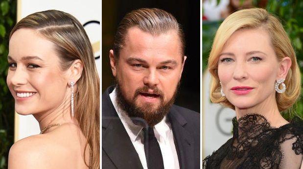 Los SAG Awards de este año tienen como candidatos a Leonardo DiCaprio, Brie Larson y Kate Blanchett. (AFP)