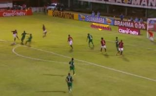 Con golazo de Paolo Guerrero, Flamengo empató 1-1 con Boavista