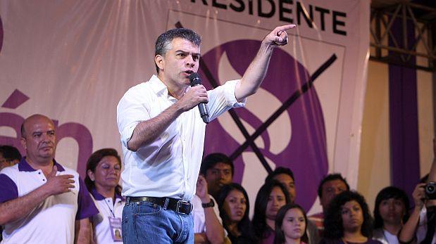 """Julio Guzmán: """"Van a tirarnos huevos, ataques no son gratuitos"""""""