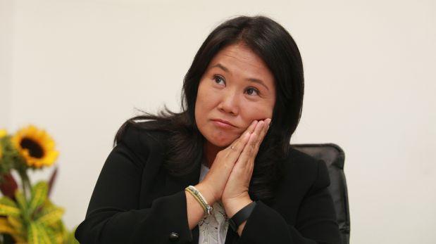 """Keiko: """"Yo de ninguna manera hubiera cerrado el Congreso"""""""