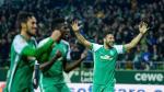 Claudio Pizarro marcó doblete en el empate del Werder Bremen - Noticias de schalke 04