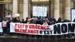 Miles se manifestaron en Francia contra el estado de emergencia - Noticias de liga francesa