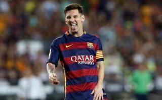 Lionel Messi: así quedó su rodilla tras patada de Filipe Luis