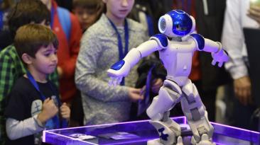 Así fue la feria de robótica Global Robot Expo de España