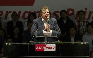 Alan García: el 80% de peruanos no votaría por él en elecciones