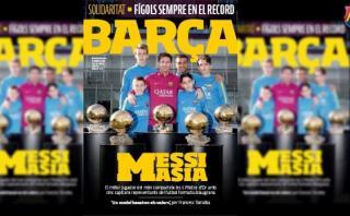 Lionel Messi y sus consejos para los chicos del Barcelona
