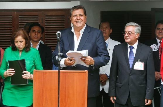 Los jales de Alan García en la lista al Congreso