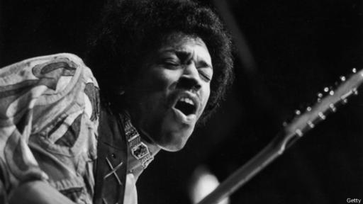 Jimi Hendrix  se encuentra entre los artistas favoritos de Bill Gates.