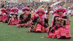 Bailarines deslumbraron en inicio de la fiesta de la Candelaria - Noticias de trajes típicos