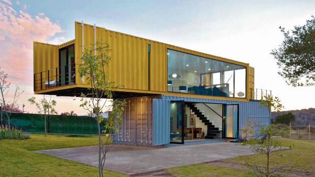 Casa contenedores una nueva forma de vivir ecol gicamente - Casa hecha con contenedores ...