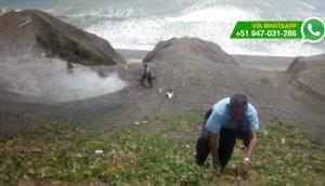 Barranco: amago de incendio fue controlado por serenos (FOTOS)
