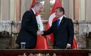 """Humala: """"Perú espera concretar este año TLC con Turquía"""""""