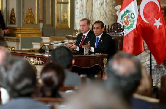 Humala recibió en Palacio  al presidente de Turquía [Fotos]