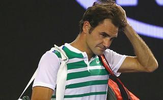 Roger Federer estará un mes sin jugar por operación en rodilla