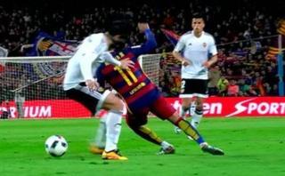 Neymar: mira su sensacional 'huacha' de espaldas [VIDEO]