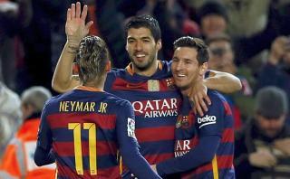 Show de Barcelona: pases, tacos, paredes y definición de Messi