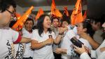Keiko Fujimori cumplió actividades proselitistas en El Agustino - Noticias de moises mieses