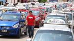 Chiclayo: miles de taxistas generan caos en protesta por multas - Noticias de lambayeque