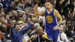 Nuevo show de Curry: anotó 51 puntos y 11 tiros de tres puntos - Noticias de john thompson