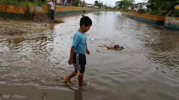 Las lluvias se intensifican en la región Tumbes [FOTOS]