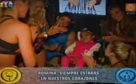 """Esto es guerra"" preparó homenaje a la niña Romina Cornejo"