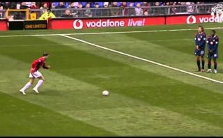 Manchester United recuerda el primer gol de Cristiano [VIDEO]
