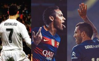 Así saludaron en redes a CR7, Neymar y Tevez por sus cumpleaños