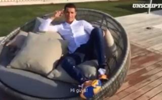 Cristiano Ronaldo dejó mensaje en Facebook por su cumpleaños
