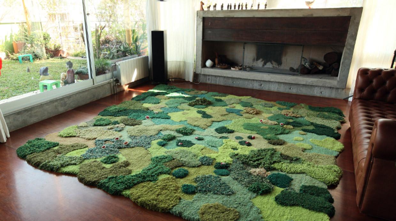 Estas alfombras llevar n la naturaleza al interior de tu casa foto galeria 1 de 7 el - Casa de las alfombras ...