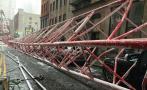 Nueva York: Caída de enorme grúa deja un muerto y 3 heridos