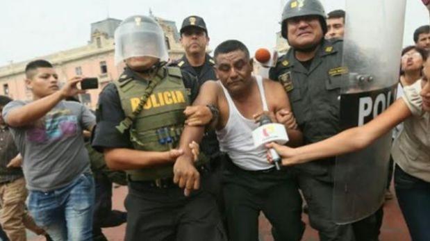Huelga policial: abren investigación a policía promotor de paro