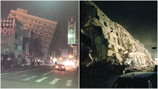 [Foto] Terremoto en Taiwán: Hay 13 muertos y más de 100 desaparecidos