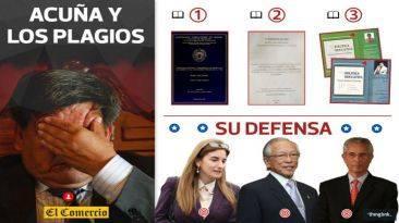 César Acuña: las denuncias de plagio que empañan su candidatura