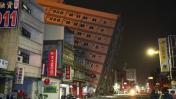 Terremoto en Taiwán: 6 muertos y varios edificios colapsados