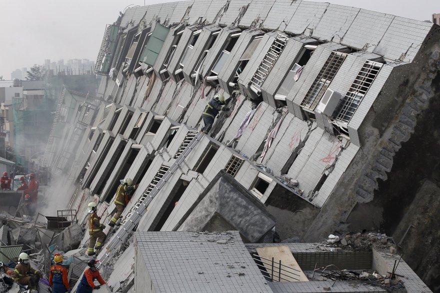 Terremoto En Taiw 225 N Las Aterradoras Fotos Que Dej 243 El