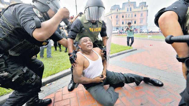 Huelga policial: seis meses de prisión preventiva para agente