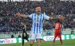 Gianluca Lapadula marcó golazo con Gareca en la tribuna [VIDEO]
