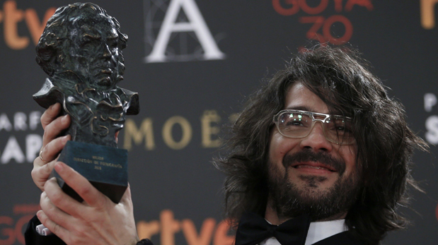Miguel Angel Amoedo, ganador del Goya 2016. (Foto: Reuters)