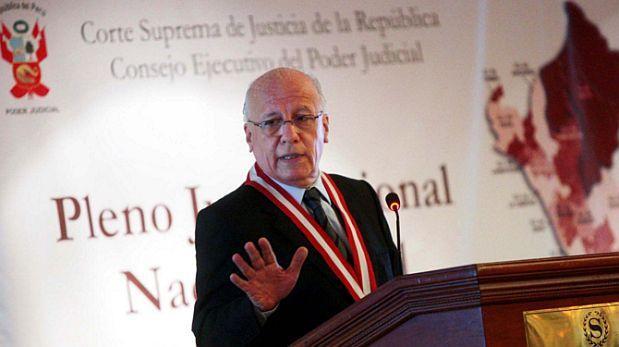 Fallece juez supremo Luis Almenara Bryson a los 74 años