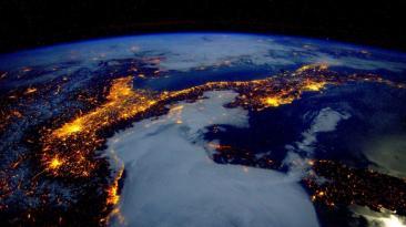 Espectaculares imágenes de la Tierra tomadas desde la EEI