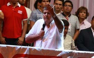 Alan García no asistirá a debate electoral de esta semana