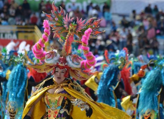 El multicolor homenaje a la Virgen de la Candelaria [FOTOS]
