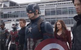 Capitán América: Civil War estrenó trailer en el Super Bowl