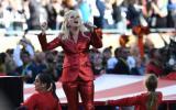 Lady Gaga interpretó el himno de EE.UU. en Super Bowl [VIDEO]