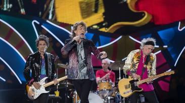 Así se inició concierto de los Rolling Stones en Argentina
