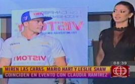 Mario Hart tuvo incómodo encuentro con supuesta ex novia
