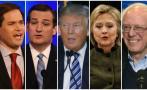 EE.UU.: ¿Cómo llegan los precandidatos a New Hampshire?