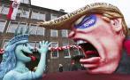 Alemanes celebran carnaval con burlas políticas
